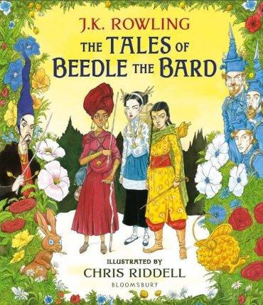 Mira las primeras ilustraciones de 'Los cuentos de Beedle el Bardo', de JK Rowling