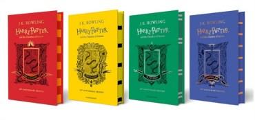 Explicación de las nuevas portadas de 'La Cámara Secreta' con las casas de Hogwarts!