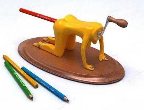 10 apontadores de lápis bem diferentes