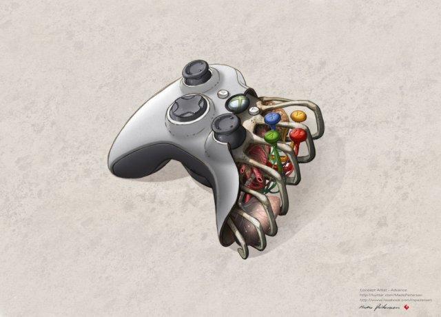 A anatomia de controles de videogame e do iPhone 4