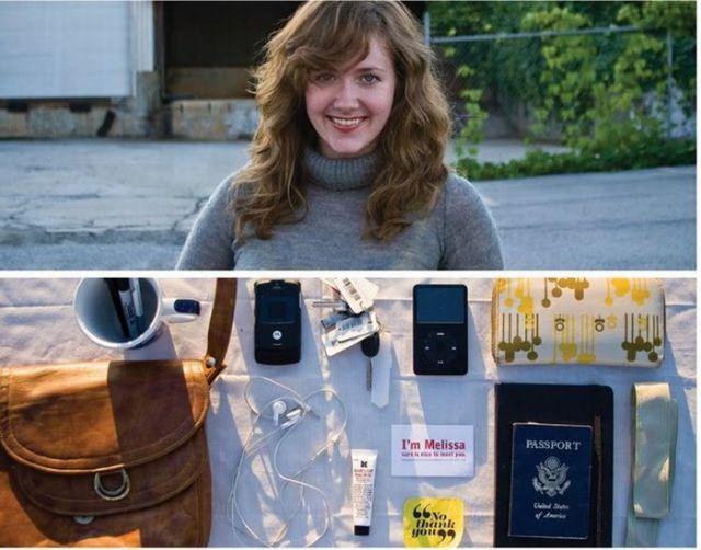 O que você carrega na bolsa?