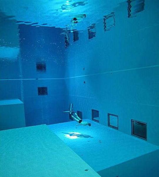 A piscina mais profunda do mundo