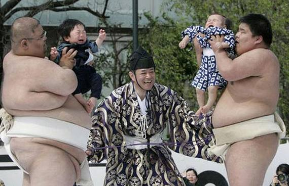 Naki Sumo, Crying Baby Contest