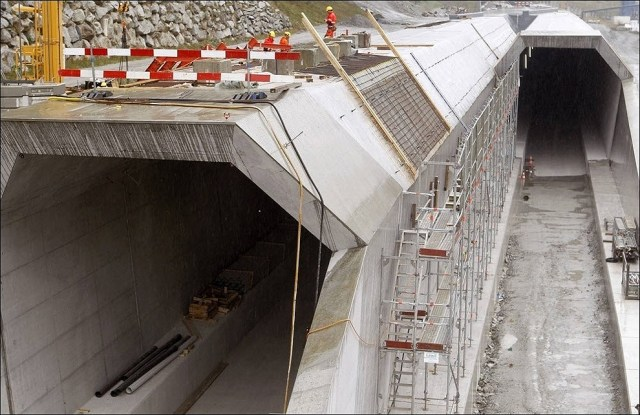 O novo túnel mais longo do mundo