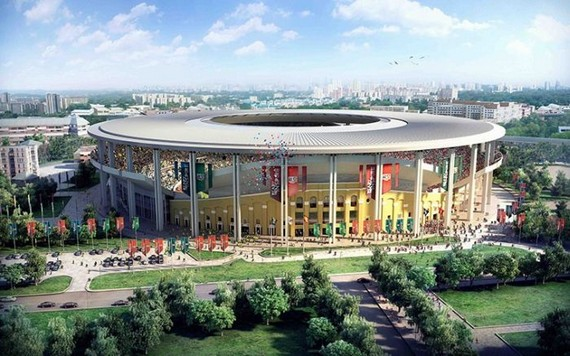 Projetos de estádios para a copa da Rússia em 2018