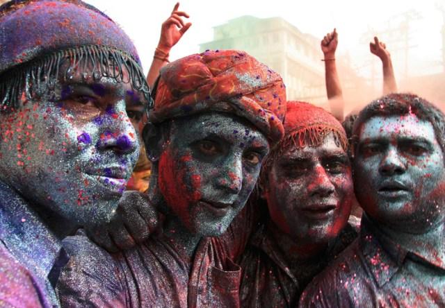 Holi, o festival das cores na Índia