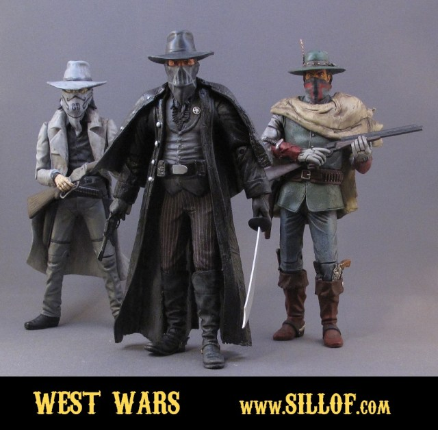 Star Wars invadiram o Velho Oeste!