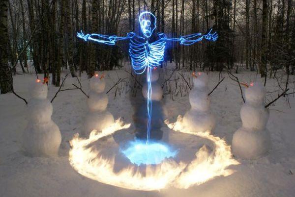 Esqueletos de luz