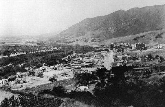 Hollywood 100 anos atrás