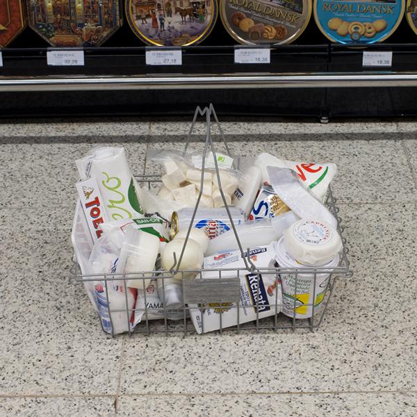 Per Color: projeto fotográfico no supermercado