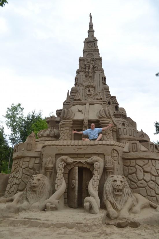 O maior castelo de areia do mundo
