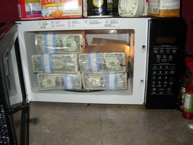 Como esconder um milhão de dólares