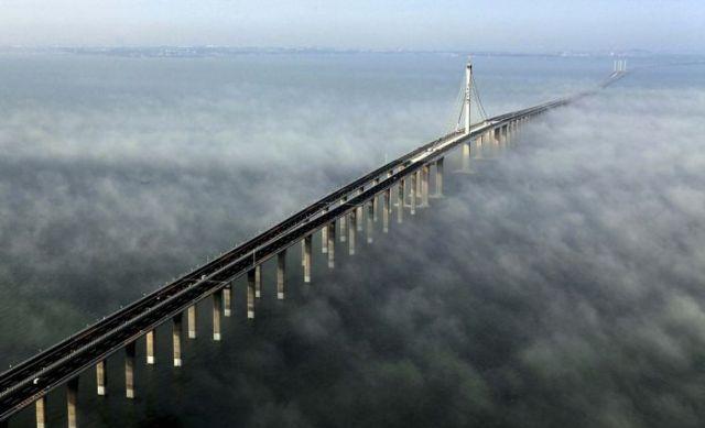 China inaugura a ponte mais longa do mundo