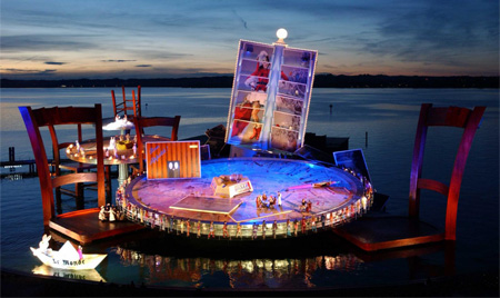 Incríveis Cenários de Ópera: La Boheme