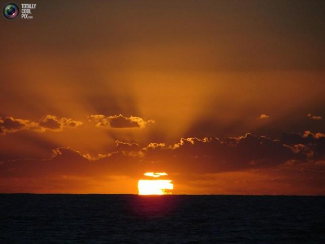 Nascer do sol ou pôr do sol?