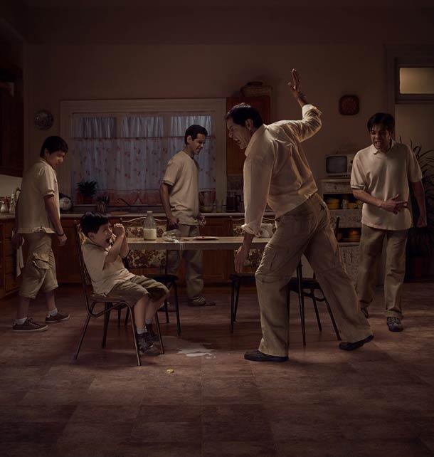 O círculo vicioso da violência