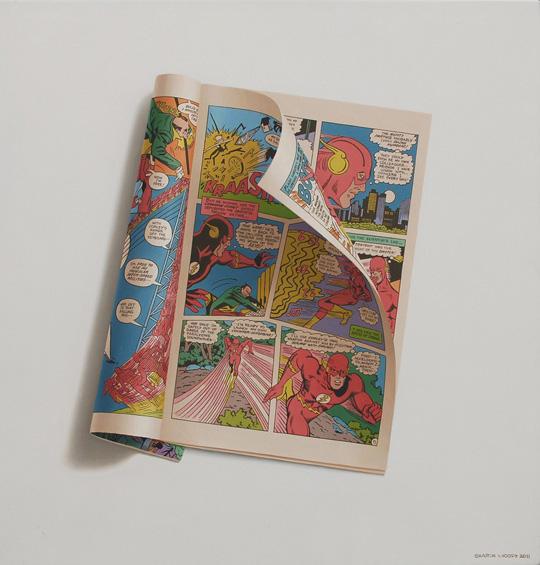 Desenhos de ilustrações que mais parecem fotos