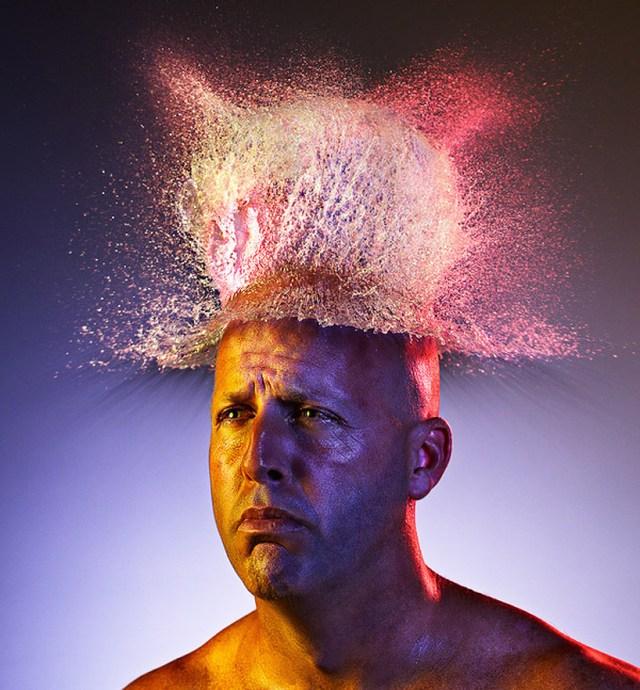 Projeto fotográfico: Water Wigs - Tim Tadder