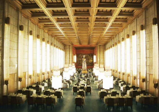 As perfeitas miniaturas de cenários de um museu de cinema francês