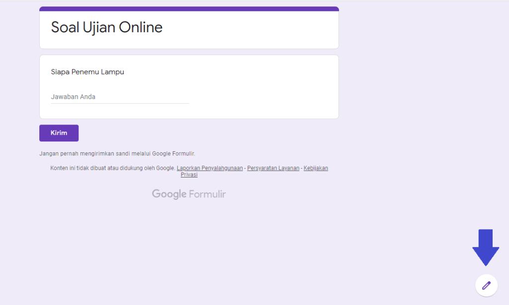 Cara Melihat Jawaban Atau Respon Yang Telah Terkirim Di Google Form Blog Idn