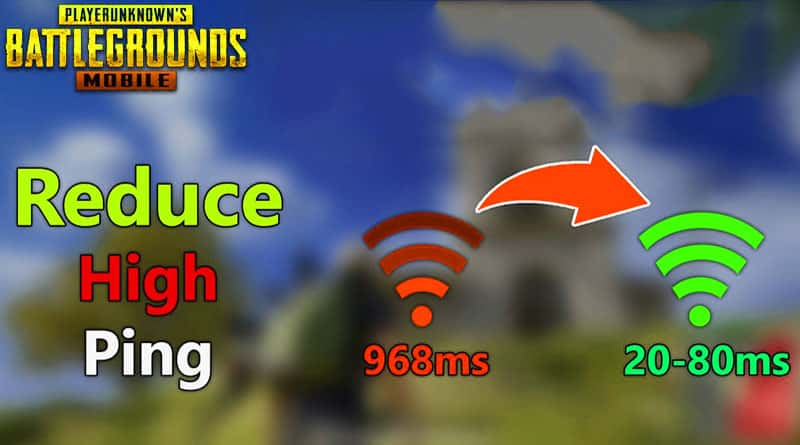 Fix Ping Problem in PUBGMobile