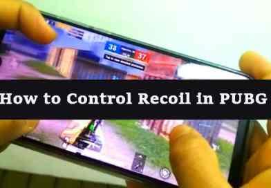 Control Recoil in PUBG Mobile