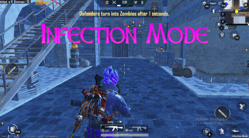 Infection Mode in PUBG Mobile: Introduce New Mode