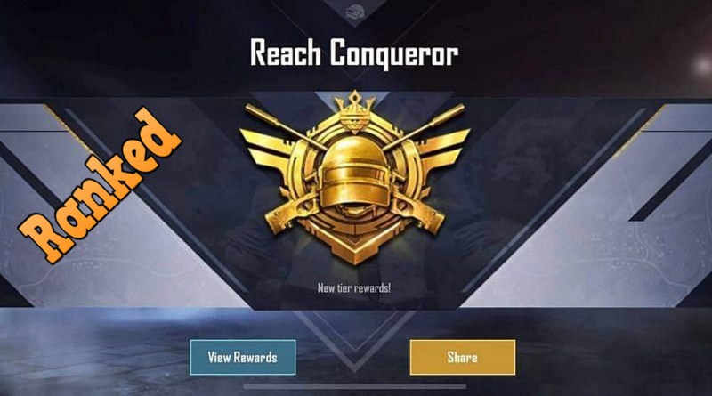 Conqueror Rank in PUBG Mobile Season 16