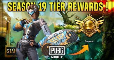 PUBG Mobile Season 19 Tier Rewards A to Z