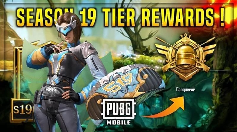 PUBG Mobile Season 19 Tier Rewards A to Z