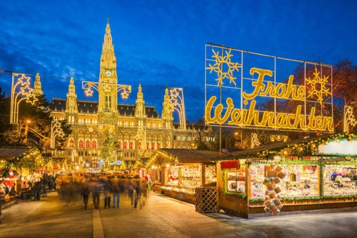 Christmas markets Europe Vienna