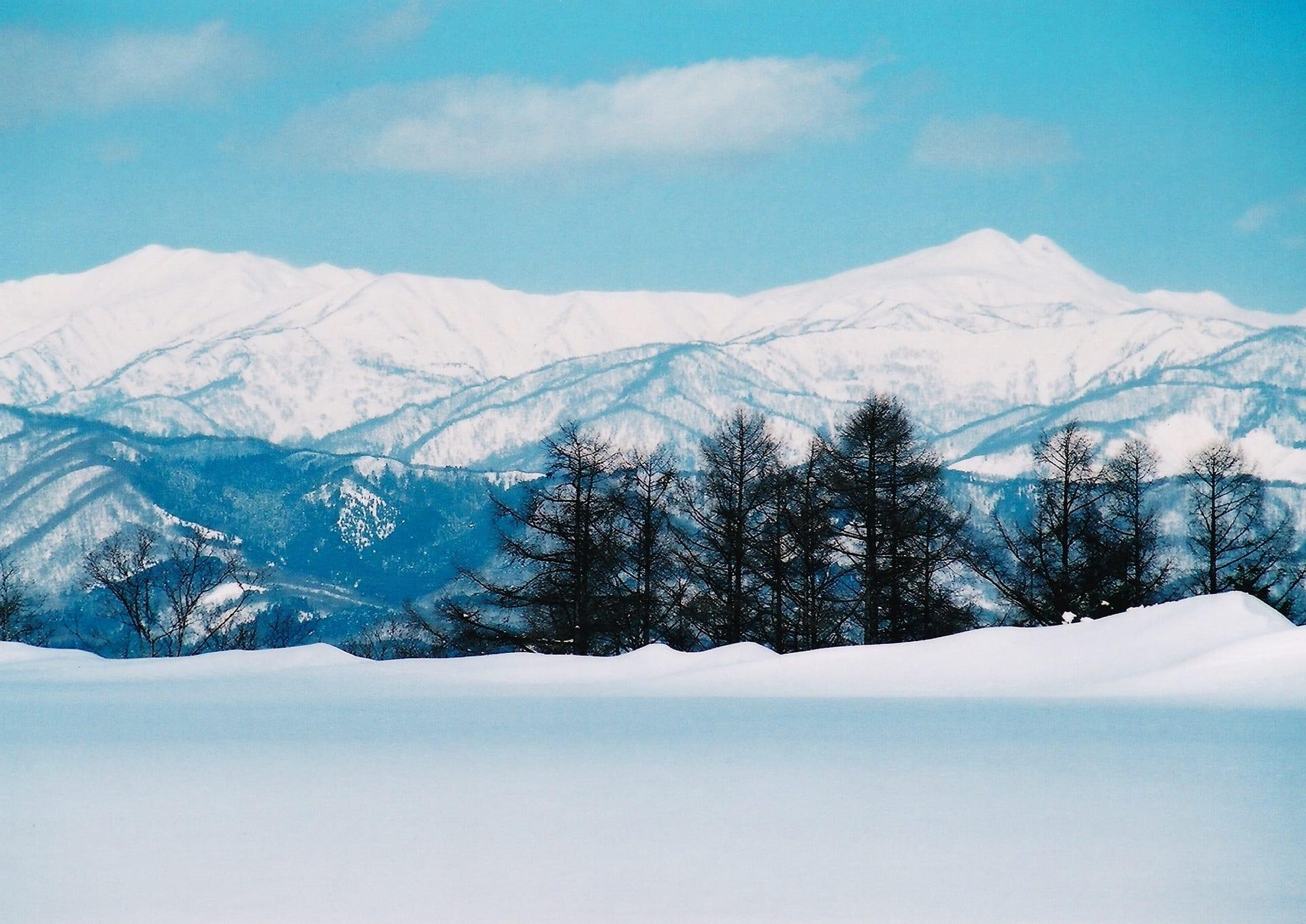 白山雪景色 2008 - 風景寫真春秋