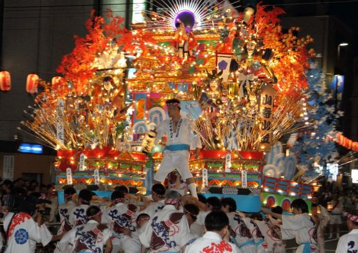 Festivales de Japón: Kurosaki Gion Yamakasa en Kitakyushu a mediados de julio