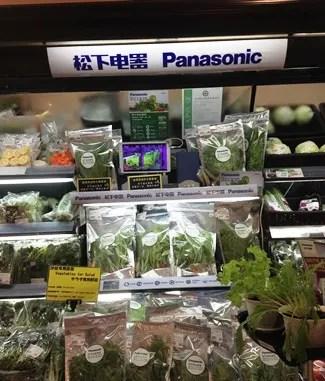 松下電器さんの安全野菜 - ちょっと蘇州へ・・・