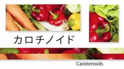 赤や橙や黄色の野菜や果物
