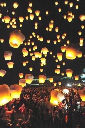 臺灣 ランタン祭 - 享楽の楽園