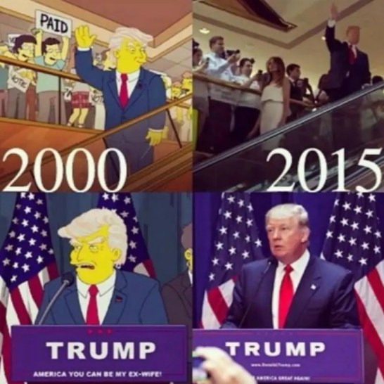 「シンプソンズ 予言」の画像検索結果
