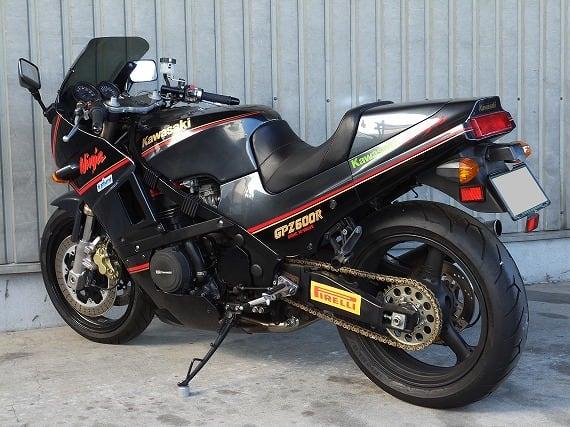 Kawasaki 86 Gpz600r 600cc Km