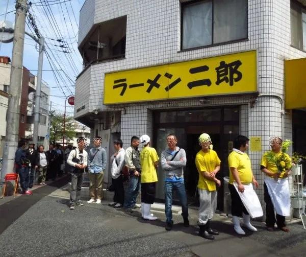 ラーメン二郎 亀戸店リニュアールオープン 4月14日 - ありがとうって伝えたくって