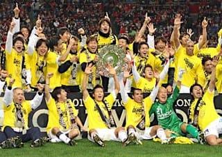 2011Jリーグ最終節 柏レイソルJ1史上初の昇格即優勝の快挙達成 ...