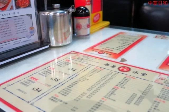 華星冰室 Capital Café 香港・澳門2015 №18 : 本日も中華日和
