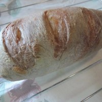 リーンなパン(その34:さて、レーズン発酵種の生地を焼いてみたら)