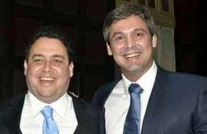 Felipe Santa Cruz e Lindbergh Farias