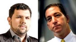 Oswaldo Eustáquio é autor de inúmeras denúncias contra o pseudo jornalista Glenn Greenwald