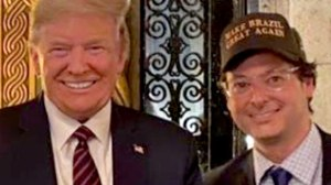 Fábio Wanjgarten e Donald Trump