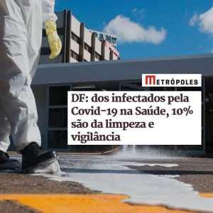 Mistura de água sanitária e água comum ajuda a eliminar gotículas do vírus em superfícies.