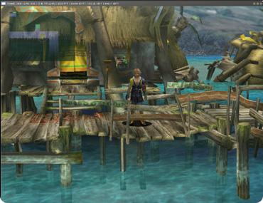 PCSX2, captura de un juego