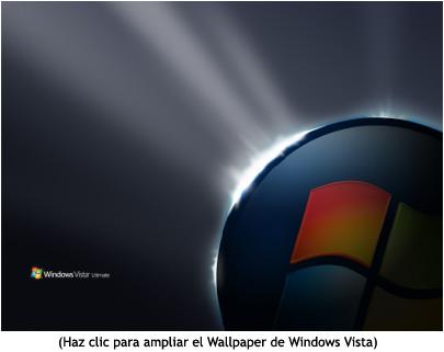 Miniatura, wallpaper de Windows Vista