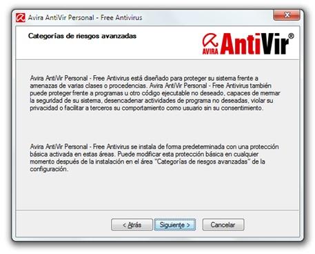 Avira AntiVir - Instalación - Explicación del antivirus