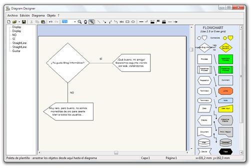 Diseñar diagramas de flujo - Diagram Designer